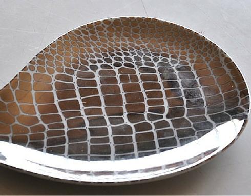 Decalcomanie per metalli preziosi da applicare su vassoi e oggetti d'arredo