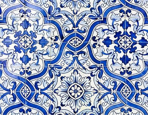 Decalcomanie per piastrelle decorative dipinte a mano